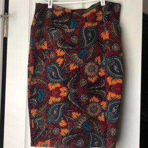 LuLaRoe Skirts - Lularoe fall Cassie skirt